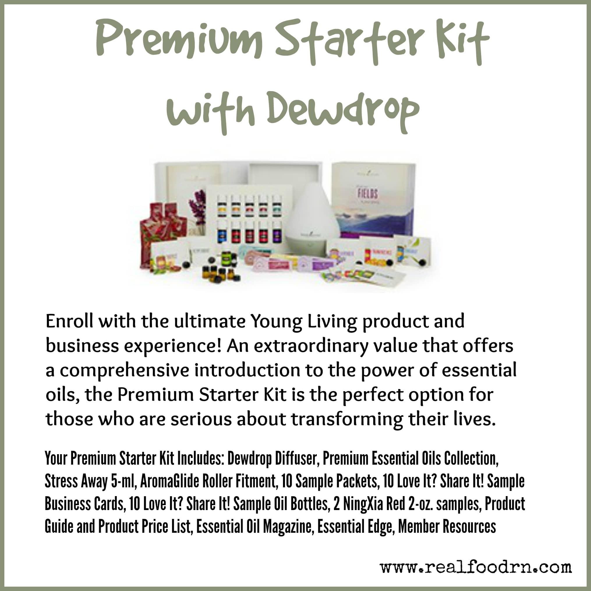Premium Starter Kit with Dewdrop