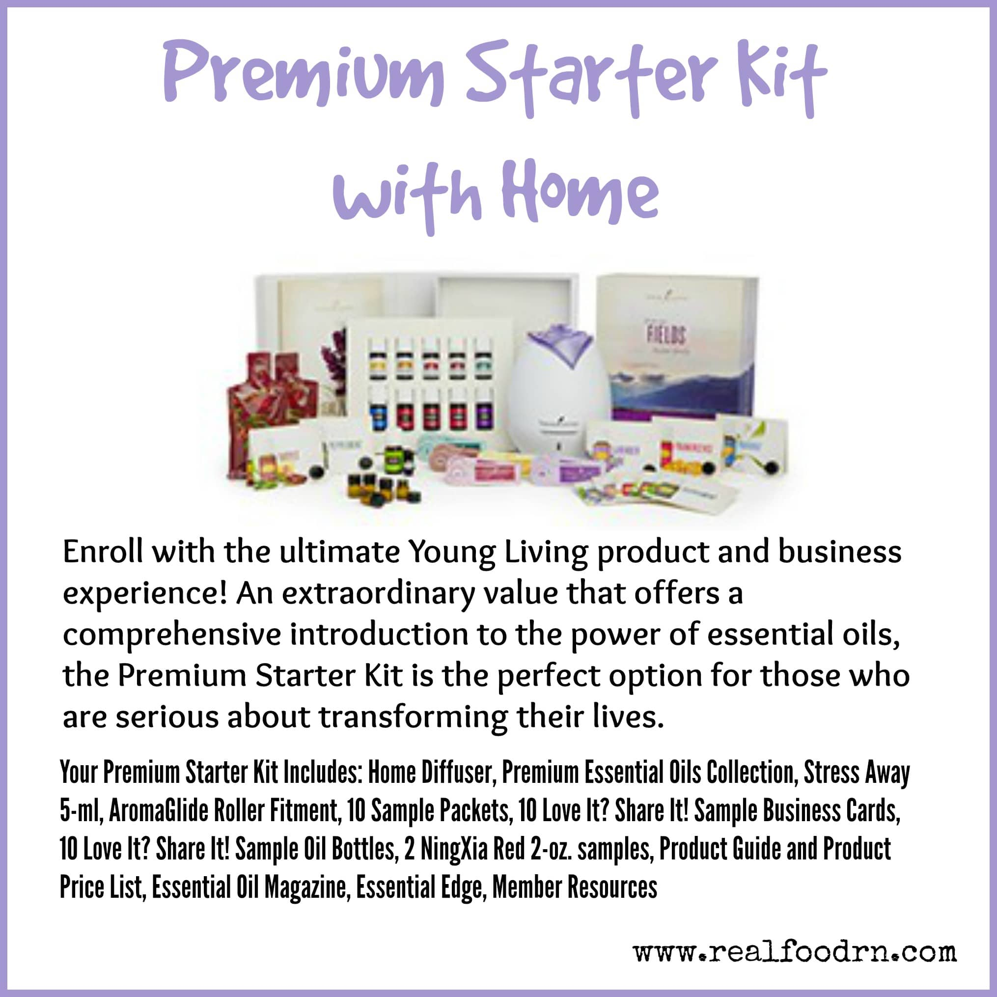 Premium Starter Kit with Home