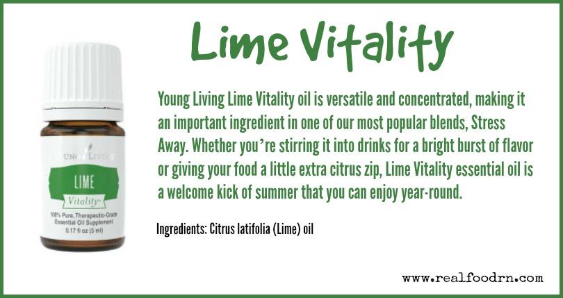 Lime Vitality | Real Food RN