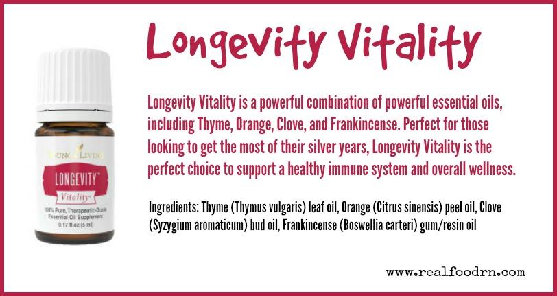 Longevity Vitality | Real Food RN