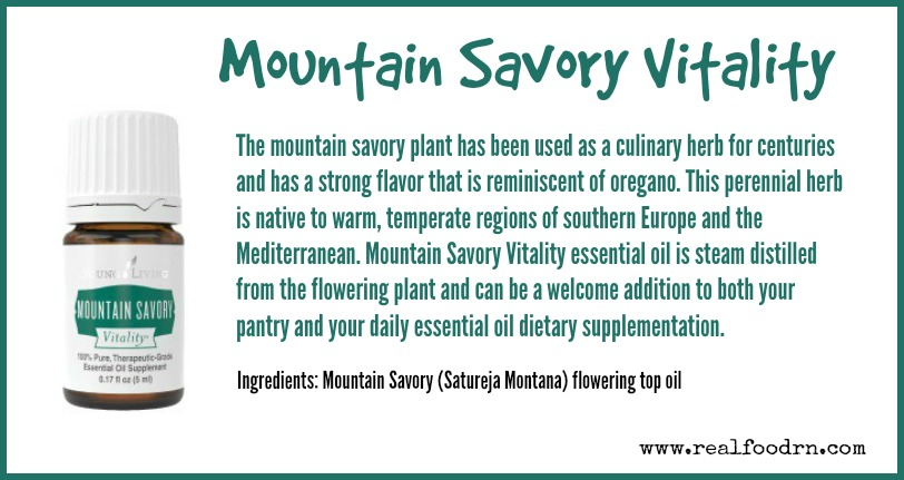 Mountain Savory Vitality | Real Food RN