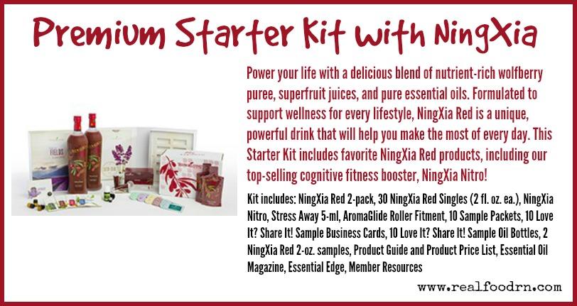Premium Starter Kit with NingXia | Real Food RN