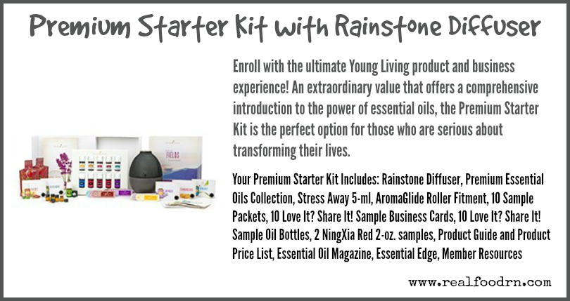 Premium Starter Kit with Rainstone Diffuser | Real Food RN