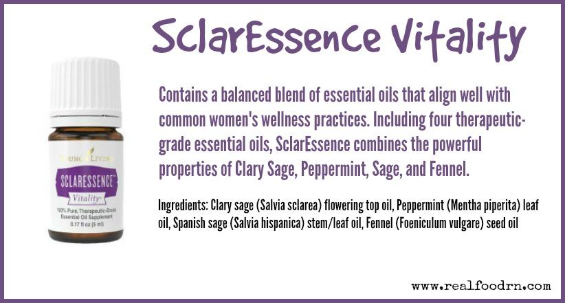SclarEssence Vitality | Real Food RN