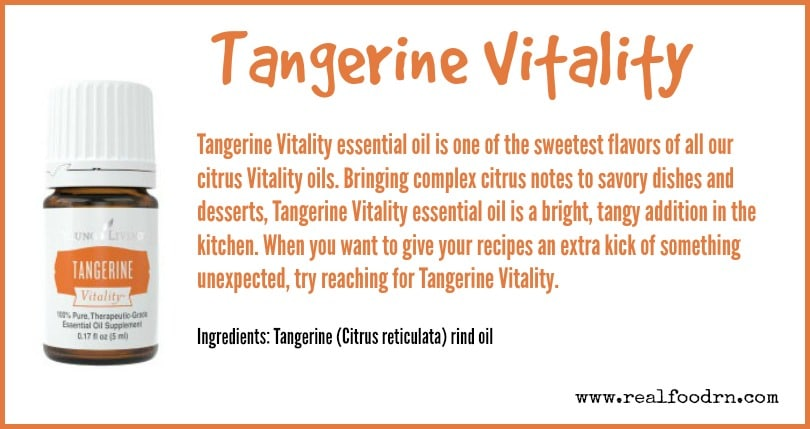 Tangerine Vitality | Real Food RN