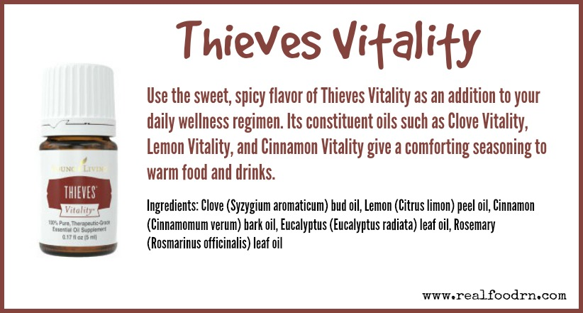 Thieves Vitality | Real Food RN