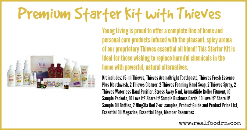 Premium Starter Kit with Thieves | Real Food RN
