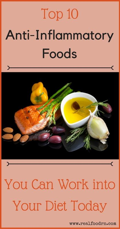 Top 10 Anti-Inflammatory Foods You Can Work into Your Diet Today | Real Food RN