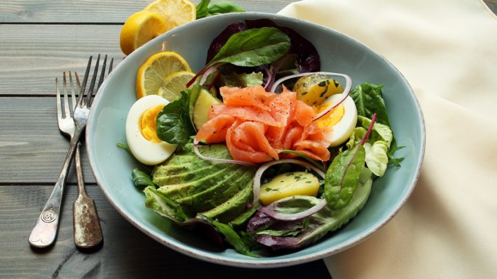 Smoked Salmon Salad | Real Food RN