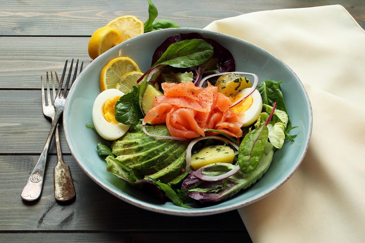 Smoked Salmon Salad | Real Food RN