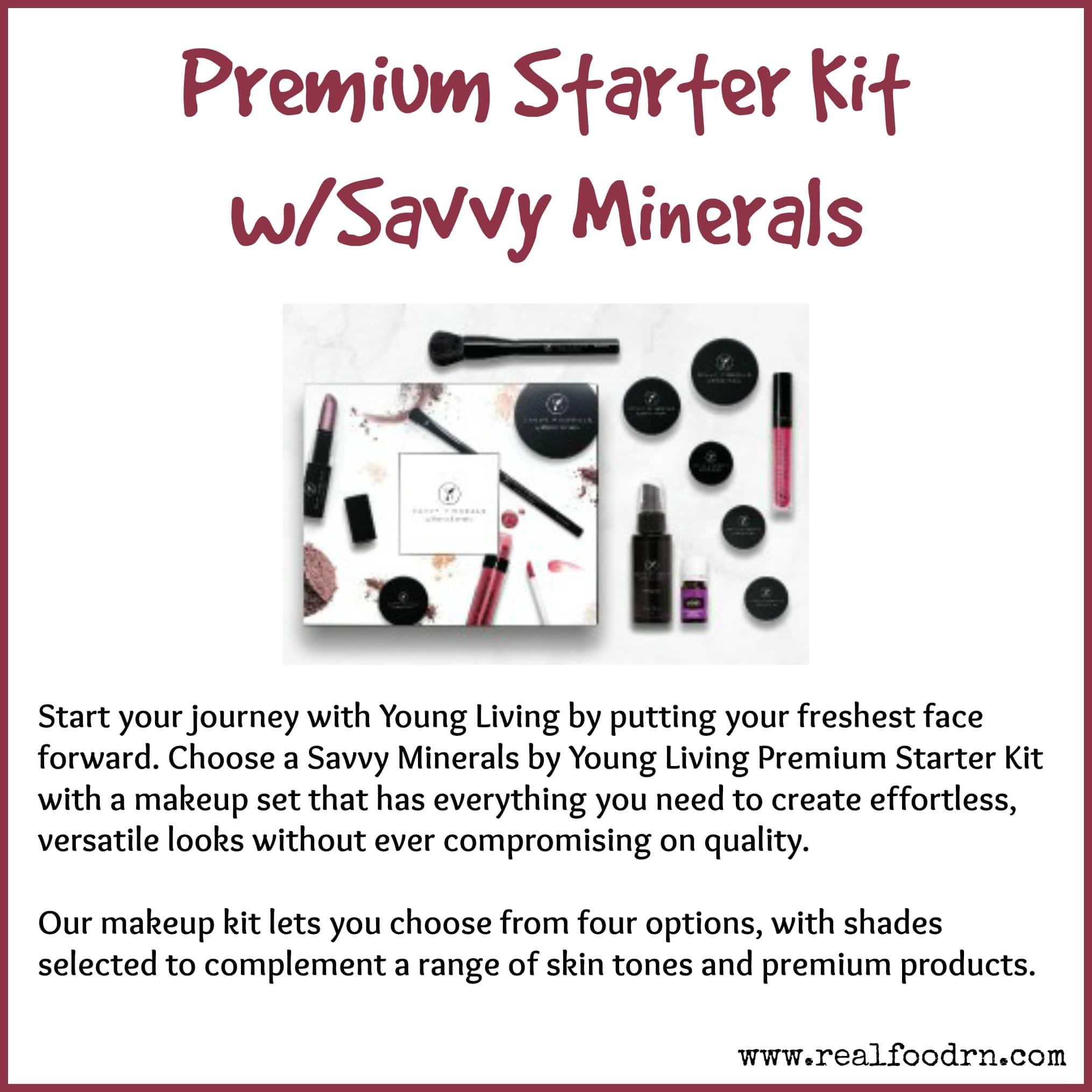 Premium Starter Kit with Savvy Minerals