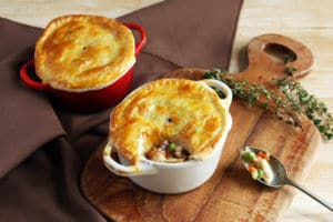Gluten-Free Mini Chicken Pot Pies | Real Food RN