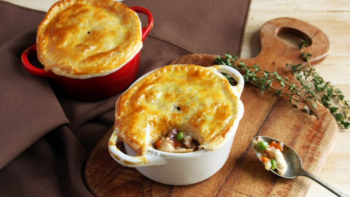 Gluten-Free Mini Chicken Pot Pies