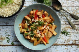 Healthy Sweet and Sour Chicken Stir-Fry | Real Food RN