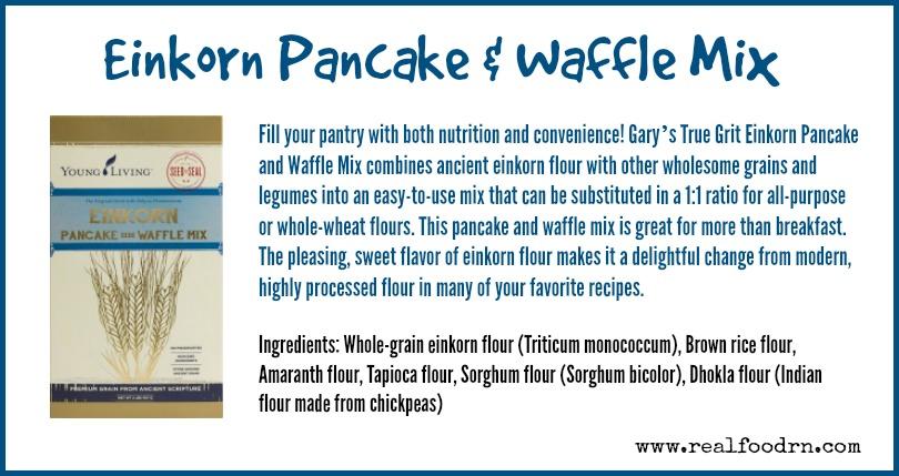 Einkorn Pancake & Waffle Mix | Real Food RN