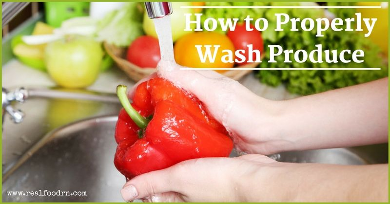 How to Properly Wash Produce | Real Food RN