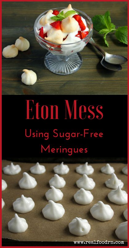 Eton Mess Using Sugar-Free Meringues | Real Food RN
