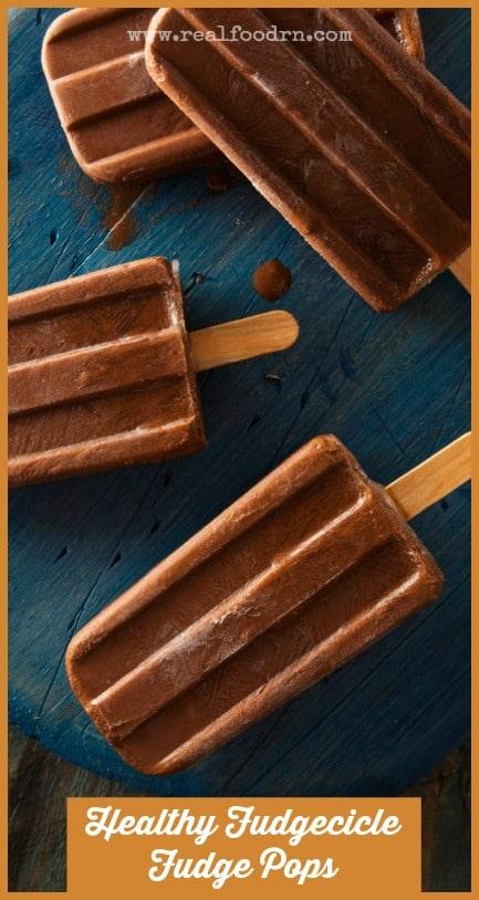 Healthy Fudgesicle Fudge Pops | Real Food RN