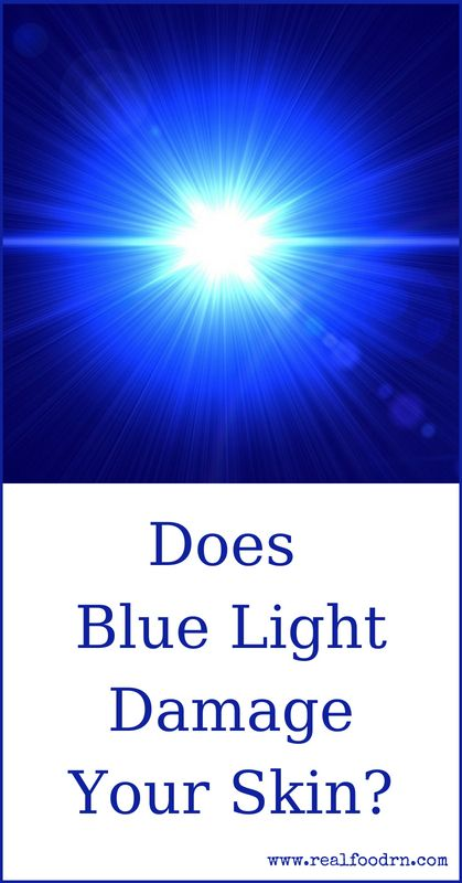 Does Blue Light Damage Your Skin? | Real Food RN