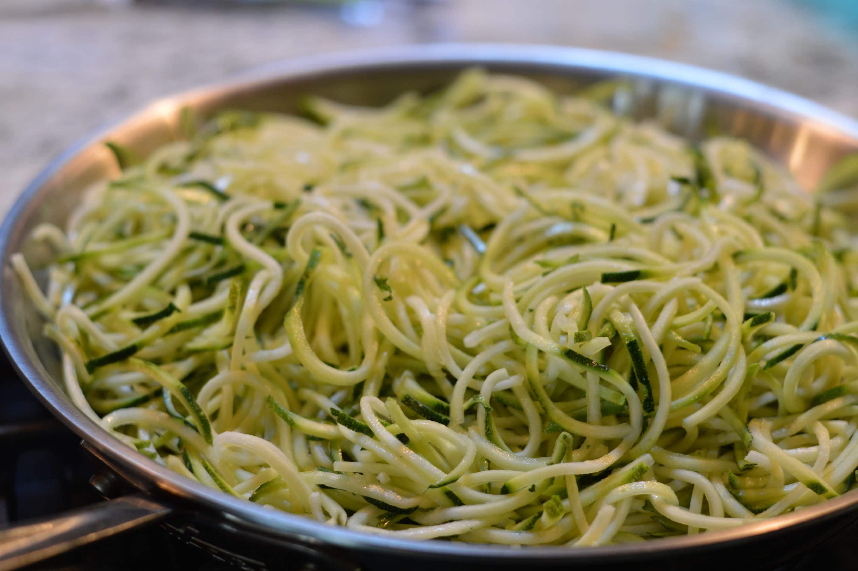 Zucchini Pasta | Creamy Instant Pot Stroganoff Meatballs | Real Food RN