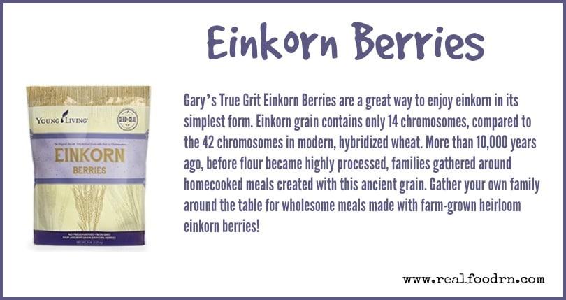Einkorn Berries | Real Food RN