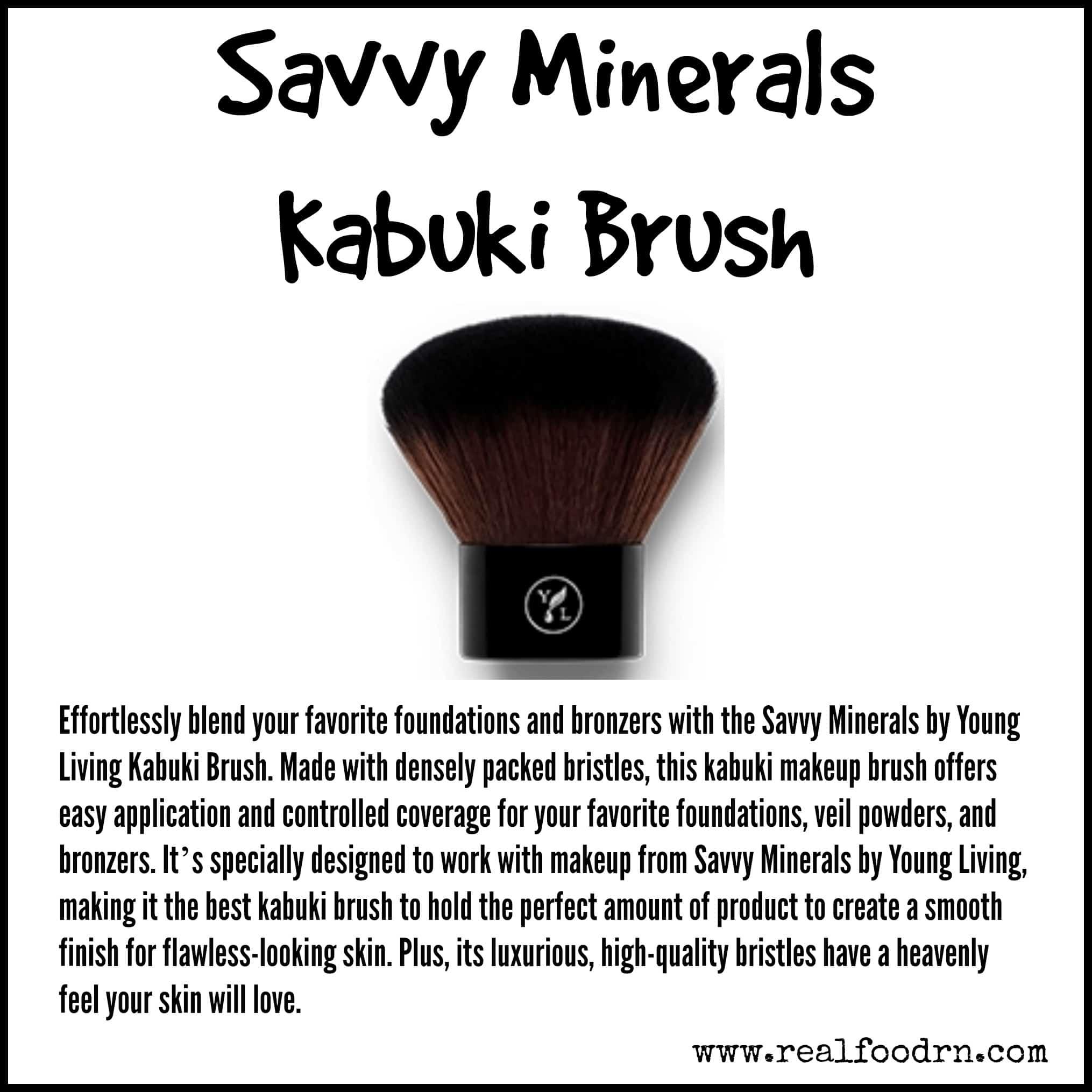 Savvy Minerals Kabuki Brush