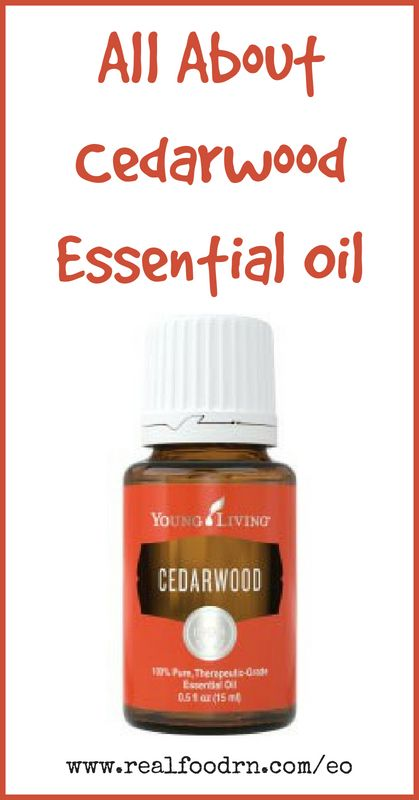 Cedarwood Essential Oil | Real Food RN