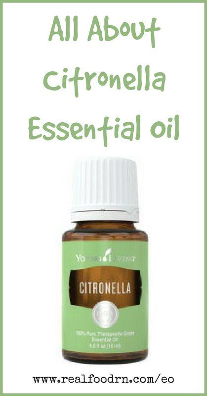 Citronella Essential Oil | Real Food RN