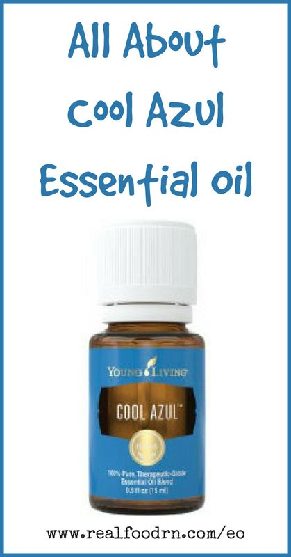 Cool Azul Essential Oil | Real Food RN
