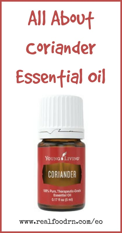 Coriander Essential Oil | Real Food RN