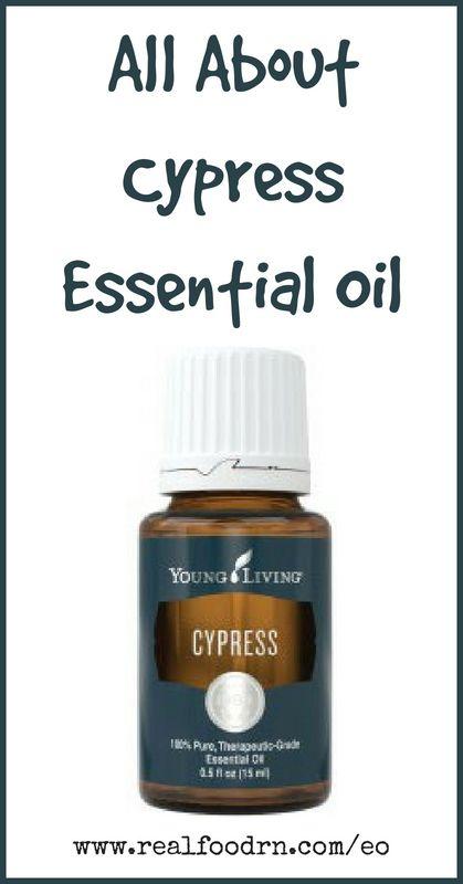 Cypress Essential Oil | Real Food RN