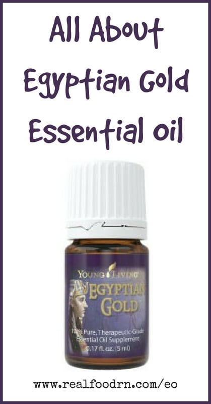 Egyptian Gold Essential Oil | Real Food RN