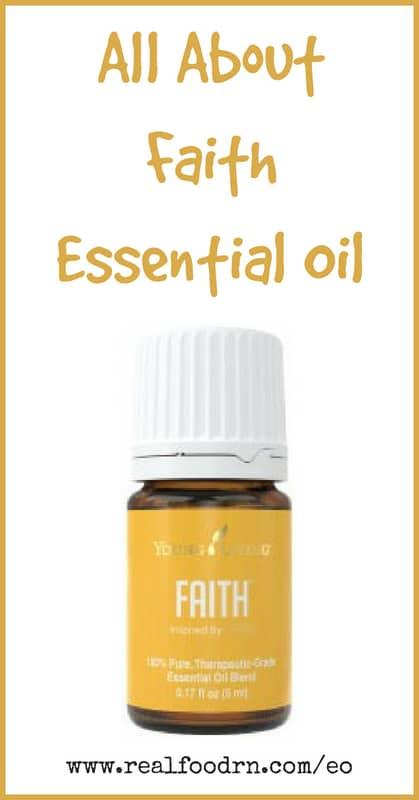 Faith Essential Oil | Real Food RN