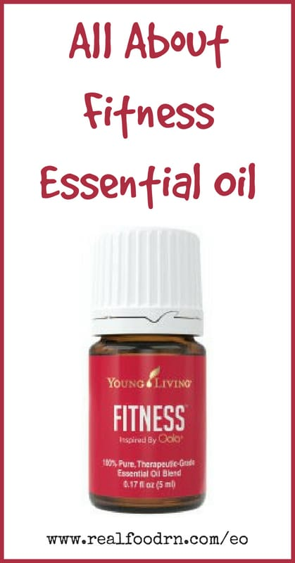 Fitness Essential Oil | Real Food RN