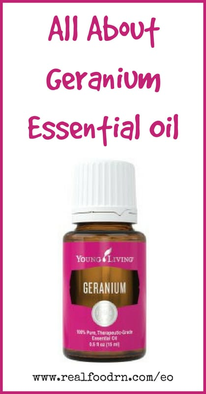 Geranium Essential Oil | Real Food RN