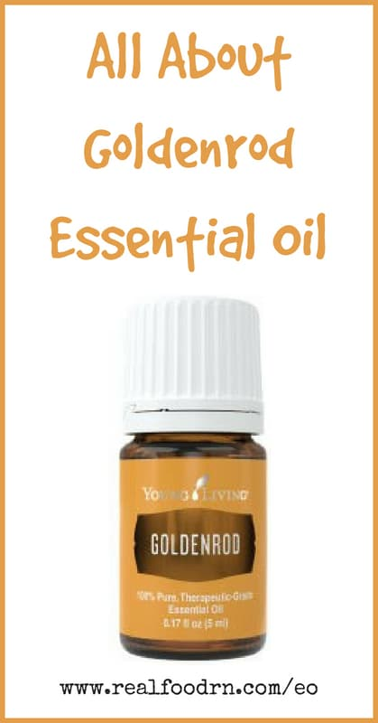 Goldenrod Essential Oil | Real Food RN