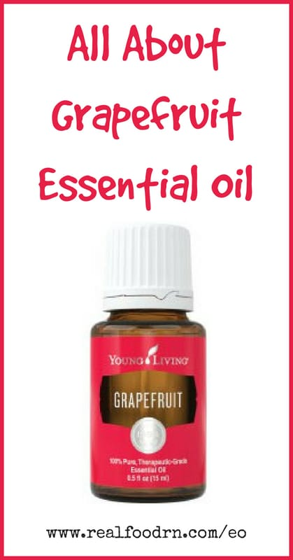 Grapefruit Essential Oil | Real Food RN