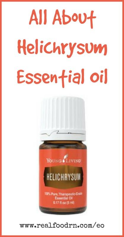 Helichrysum Essential Oil | Real Food RN