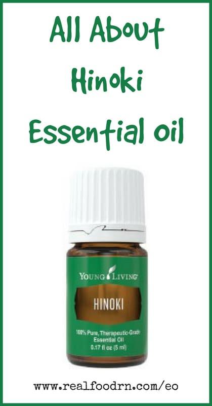 Hinoki Essential Oil   Real Food RN
