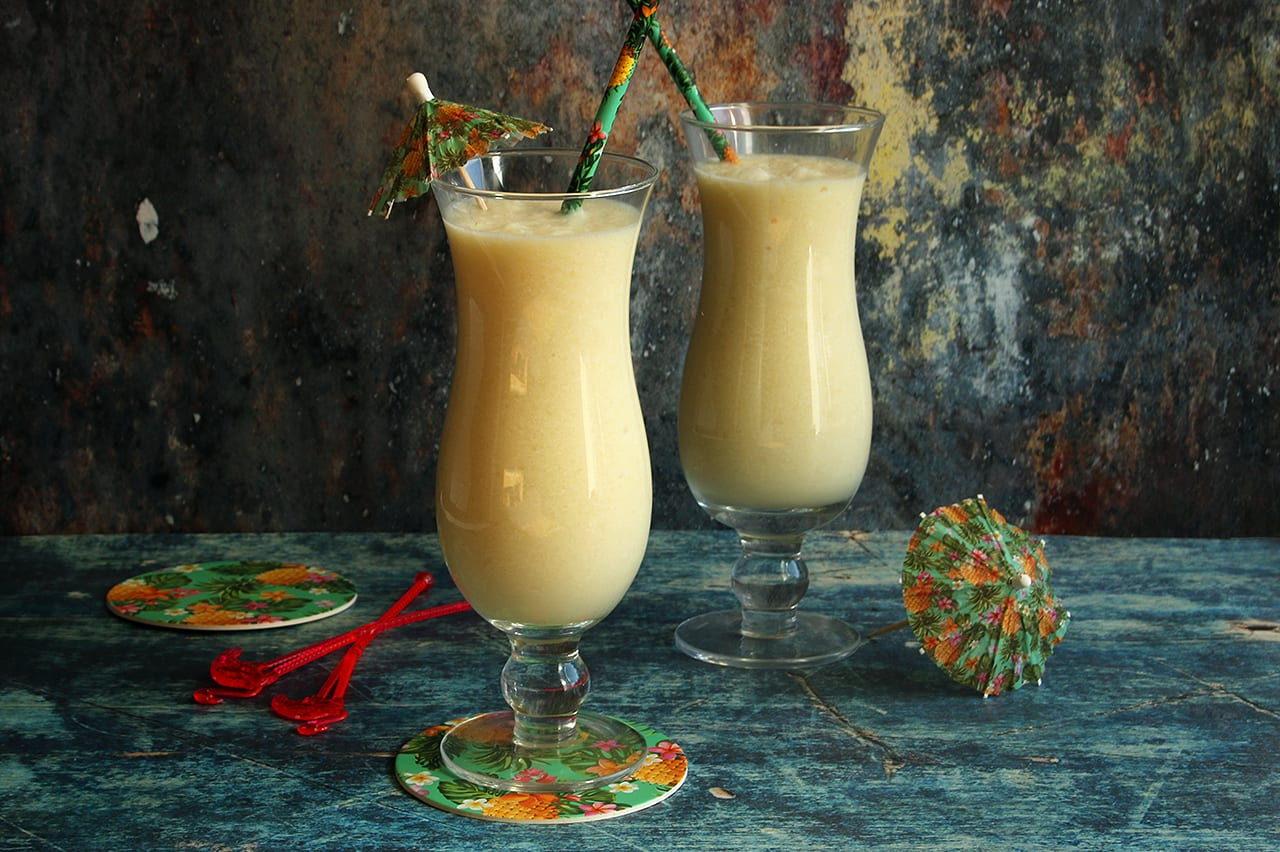Low Carb Pina Colada Recipe (made with healthy ingredients!)