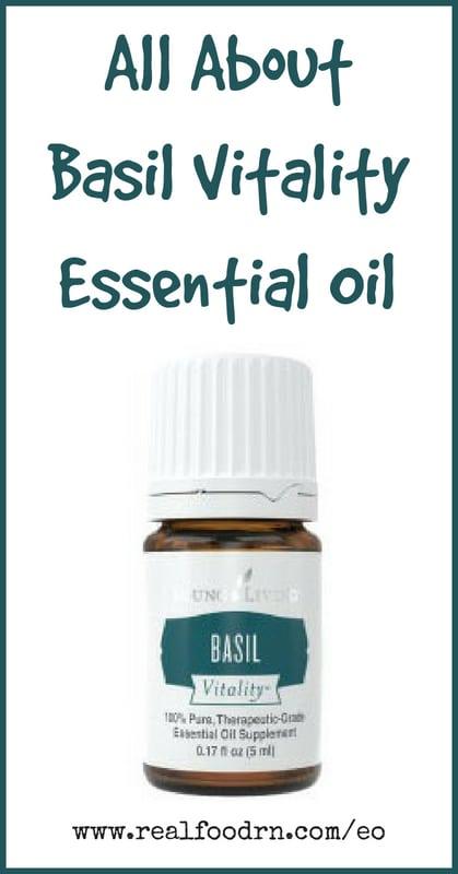Basil Vitality Essential Oil | Real Food RN