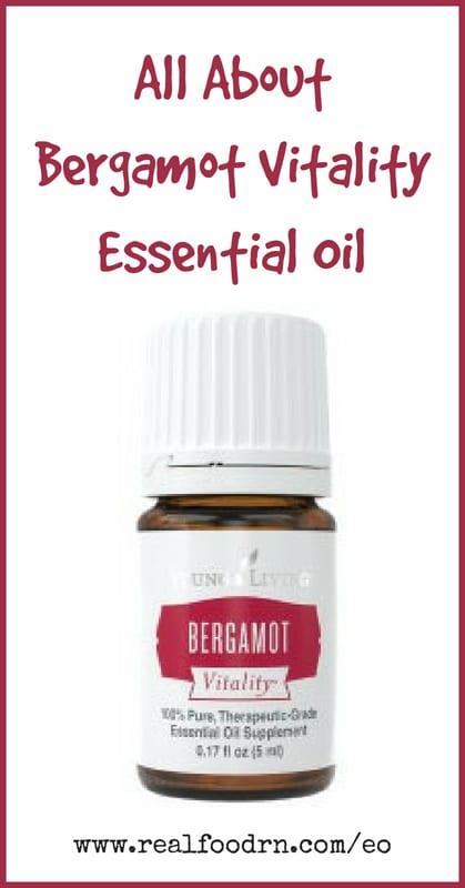 Bergamot Vitality Essential Oil   Real Food RN