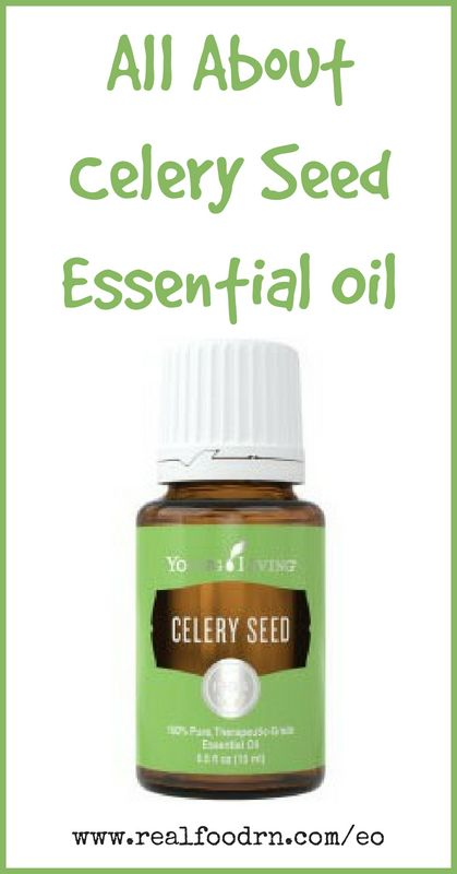 Celery Seed Essential Oil | Real Food RN
