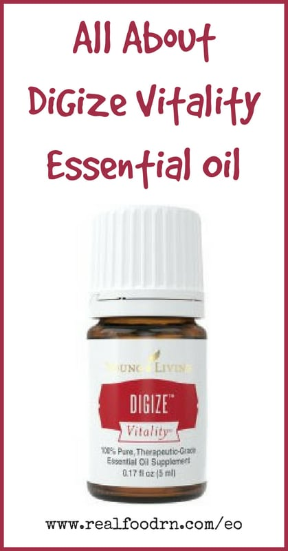 DiGize Vitality Essential Oil | Real Food RN