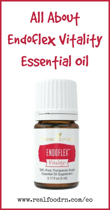 Endoflex Vitality Essential Oil | Real Food RN