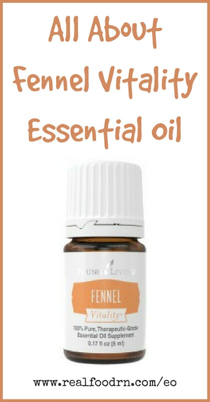 Fennel Vitality Essential Oil | Real Food RN