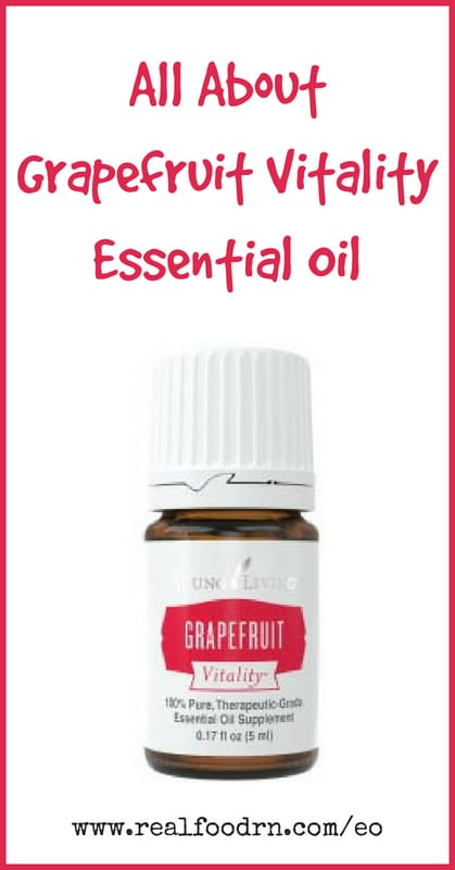 Grapefruit Vitality Essential Oil | Real Food RN