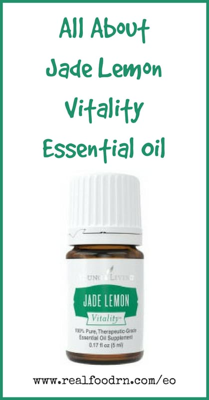 Jade Lemon Vitality Essential Oil | Real Food RN