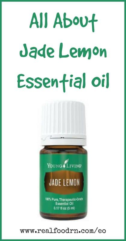 Jade Lemon Essential Oil | Real Food RN
