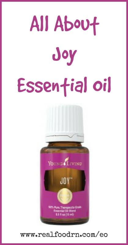 Joy Essential Oil | Real Food RN